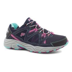 Women's Fila Vitality V Running Shoe Fila Navy/Aruba Blue/Fuchsia Red