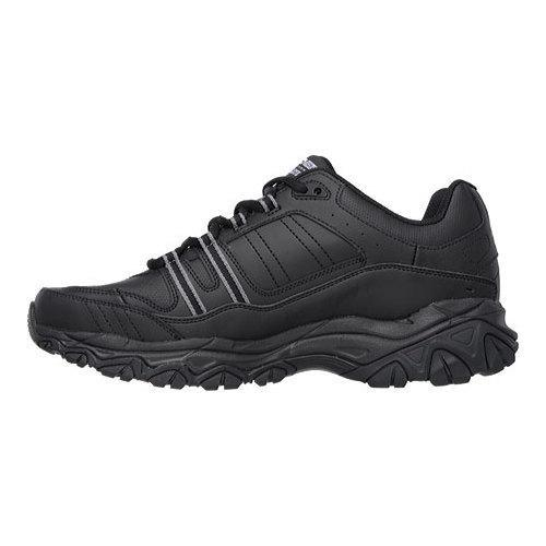 Men's Skechers After Burn Memory Fit Strike On Sneaker Black - Thumbnail 2