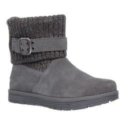 Skechers Women's Adorbs Sweater Boot Charcoal