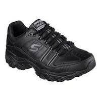 Men's Skechers After Burn Memory Fit Strike On Sneaker Black