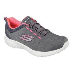 Women's Skechers Energy Burst Equinox Bungee Lace Shoe Charcoal/Coral
