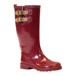 Women's Chooka Top Solid Rainboot Garnet