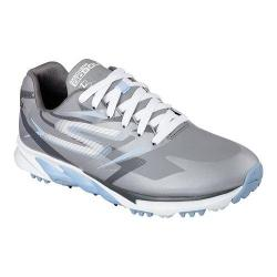 Women's Skechers GO GOLF Blade Waterproof Hybrid Gray/Blue