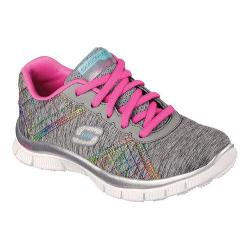 Girls' Skechers Skech Appeal Its Electric Sneaker Gray/Multi