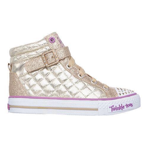 ... Thumbnail Girls  x27  Skechers Twinkle Toes Shuffles Sweetheart Sole  High ... 4084f697a52
