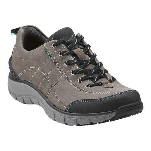 d474935be52 Women's Clarks Wave.Trek Walking Shoe Grey Leather