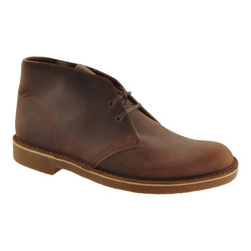 Men's Clarks Bushacre 2 Boot Dark Brown Leather