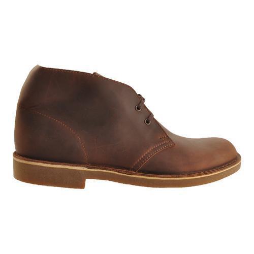 Men's Clarks Bushacre 2 Boot Dark Brown Leather - Thumbnail 1