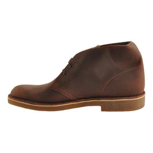 Men's Clarks Bushacre 2 Boot Dark Brown Leather - Thumbnail 2