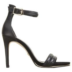 Women's Kenneth Cole New York Brooke Two Piece Sandal Black Leather