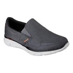 Men's Skechers Equalizer Double Play Slip On Charcoal/Orange