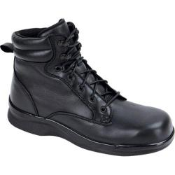 Men's Apex 6in Ambulator Biomechanical Lace Boot Black Leather