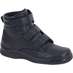 Men's Apex 6in Ambulator Biomechanical Triple Strap Boot Black Leather