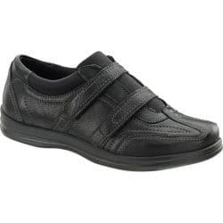 Women's Apex Carla Dual Strap Shoe Black Full Grain Leather