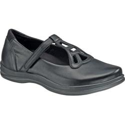 Women's Apex Charlotte T-Strap Mary Jane Black Full Grain Leather (More options available)