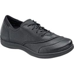 Women's Apex Karen Classic Lace Oxford Black Full Grain Leather