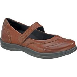 Women's Apex Lisa Classic Mary Jane Brown Full Grain Leather