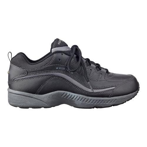 Women S Easy Spirit Romy Walking Shoe Black Dark Grey