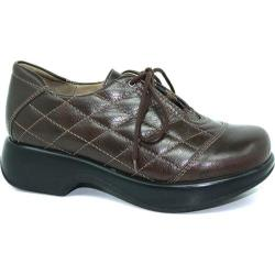 Women's Dromedaris Merlin Lace Up Brown Veg Tanned Leather