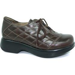 Women's Dromedaris Merlin Lace Up Brown Veg Tanned Leather
