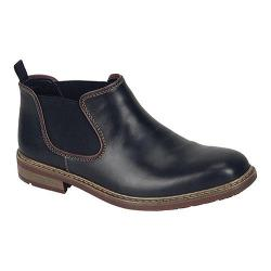 Men's Rieker-Antistress B1282 Boot Black/Bordeaux Leather