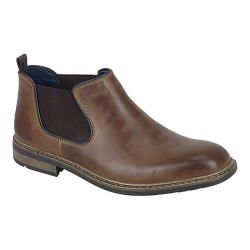Men's Rieker-Antistress B1282 Boot Tabak/Navy Leather