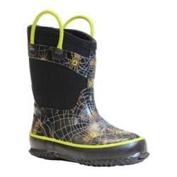 Boys' Western Chief Spider Prey Neoprene Boot Black
