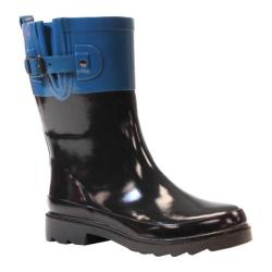 Women's Western Chief Top Pop Mid Rain Boots Marine Blue