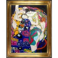 The Virgin by Gustav Klimt Framed Hand Painted Oil on Canvas