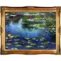 Water Lilies by Claude Monet Framed Hand Painted Oil on Canvas