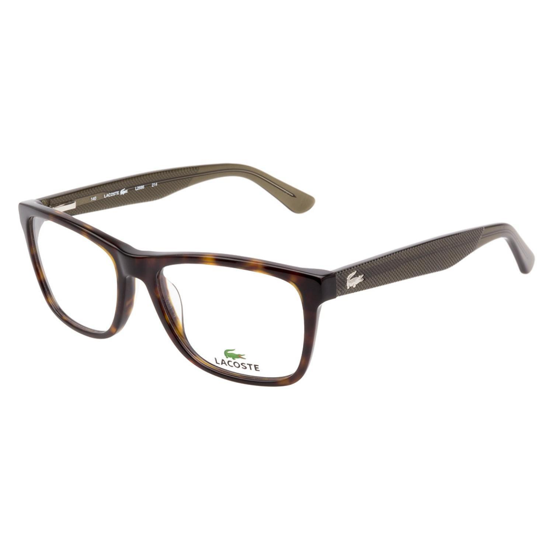 cc6e6617b56 Shop Lacoste L2686 214 Havana Prescription Eyeglasses - Free ...
