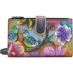 Women's Anuschka Large Smart Phone Case & Wallet Blissful Birds