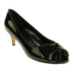Women's VANELi Ullie Peep-Toe Pump Black Krinkle Patent