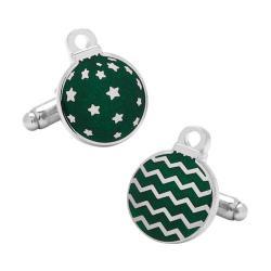 Men's Cufflinks Inc Green Ornaments Cufflinks Green