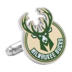Men's Cufflinks Inc Milwaukee Bucks Cufflinks PD-MWB Green