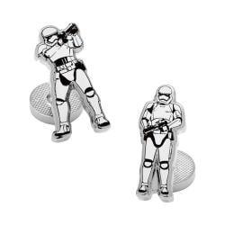 Men's Cufflinks Inc Stormtrooper Action Cufflinks White