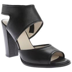 Women's Kenneth Cole New York Stacy Sandal Black/Black Leather