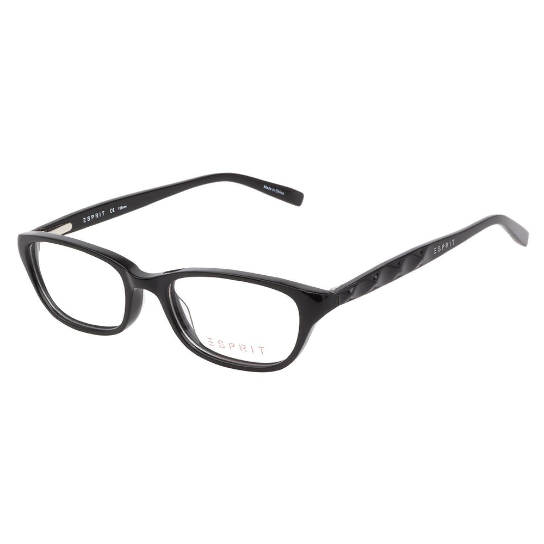 c304810679f Shop Esprit 17419 538 Black Prescription Eyeglasses - Free Shipping Today -  Overstock.com - 10879069