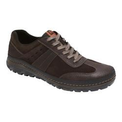 Men's Rockport Activflex Rocsports T-Toe Ox Dark Bitter Chocolate Leather