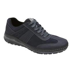 Men's Rockport Activflex Rocsports T-Toe Ox Navy Leather