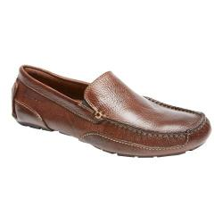 Men's Rockport Oaklawn Park Venetian Brown Leather