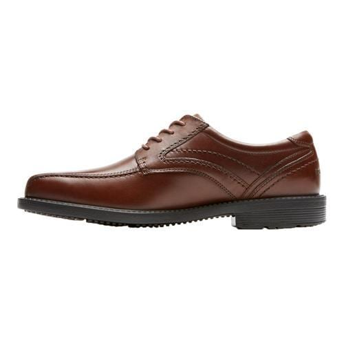 Men's Rockport Style Leader 2 Bike Toe Oxford Tan II Leather - Thumbnail 2