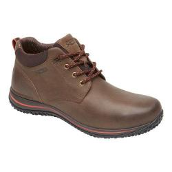 Mens Rockport Walk360 Walking Mid Boot Bark/Cherry Tomato