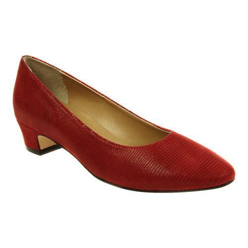 da30af5858e Shop Women s VANELi Astyr Pump Red Miniliz Print - Free Shipping Today -  Overstock - 10885725