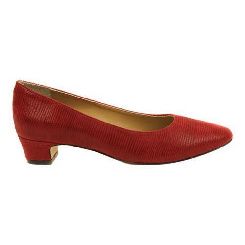 8cdf4a70ee1 Shop Women s VANELi Astyr Pump Red Miniliz Print - Free Shipping ...