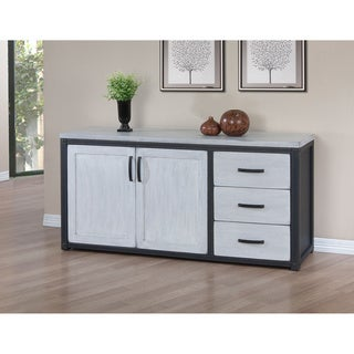 Heritage Cloudy White 3-drawer Buffet