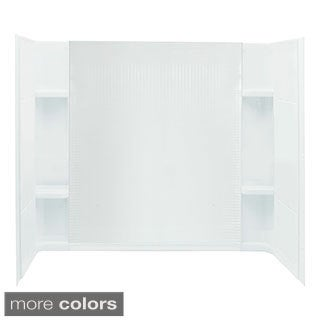 Accord 32-inch 3-piece Direct-to-Stud White Shower Wall Set