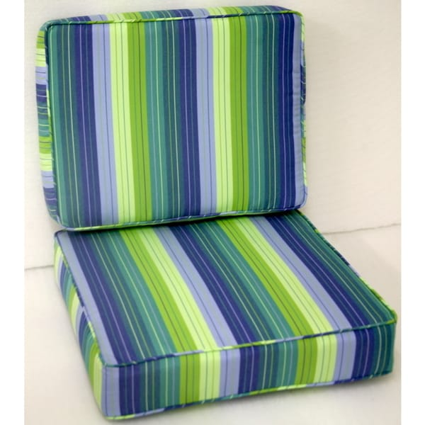 Shop Trijaya Living Seville Seaside Patio Furniture Cushion On