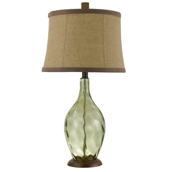 Shop Somette Divino Hand Blown Wine Bottle Table Lamp