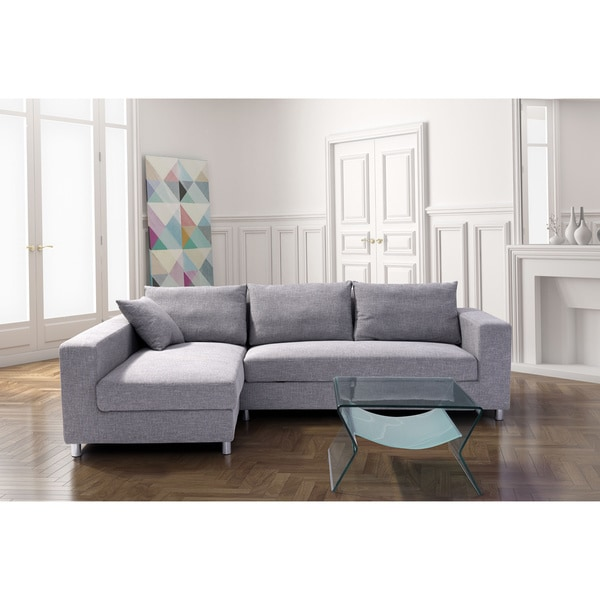 Zuo Roxboro Sleeper Sectional Grey Free Shipping Today